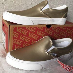Vans Classic Slip-On™Muted Metallic) Gold8